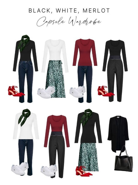 Modal Long Sleeve Capsule Wardrobe I Bella Bodies Australia
