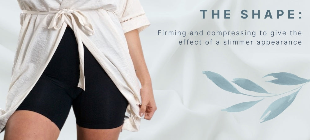 Women's anti chafing and firming shorts | The Shape | Shorts Comparison | Bella Bodies Australia