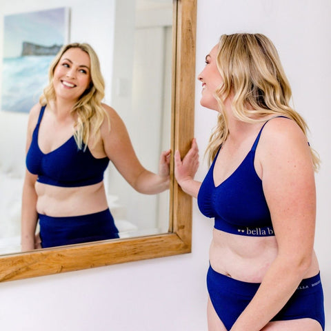 Bamboo Ultimate Adjustable Bra and Bamboo Knickers I Bella Bodies Australia