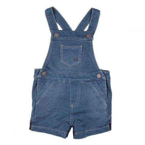 FOX  & FINCH | SEVEN SEAS KNIT DENIM OVERALL | DENIM