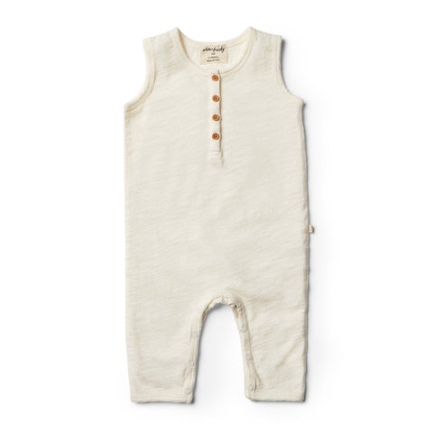 WILSON & FRENCHY | ORGANIC GROW SUIT | WHISPER WHITE