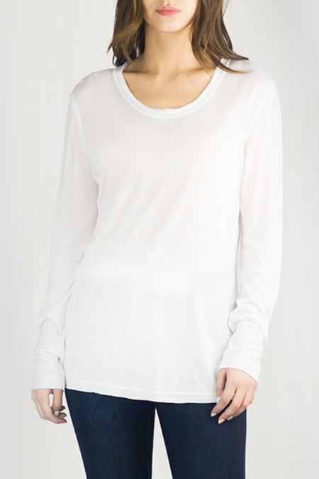 TALLULAH Luxury T in White