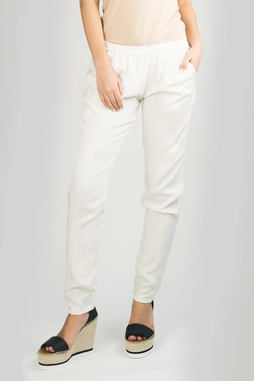 CLEMENTINE Pant White