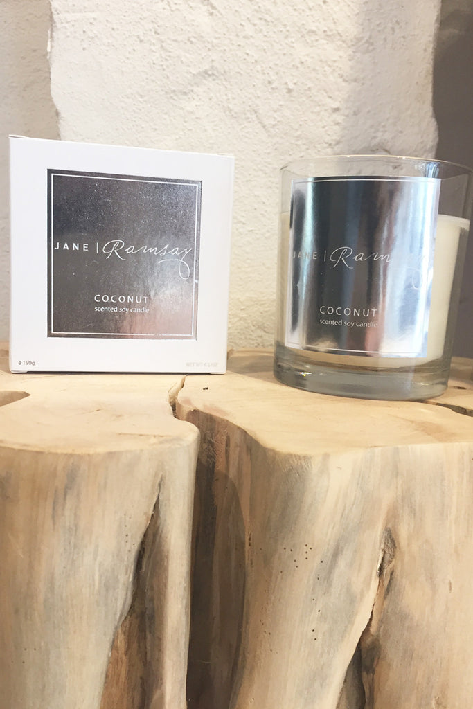 JR Coconut Candle