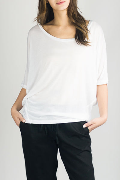 TESSA Luxury T in White