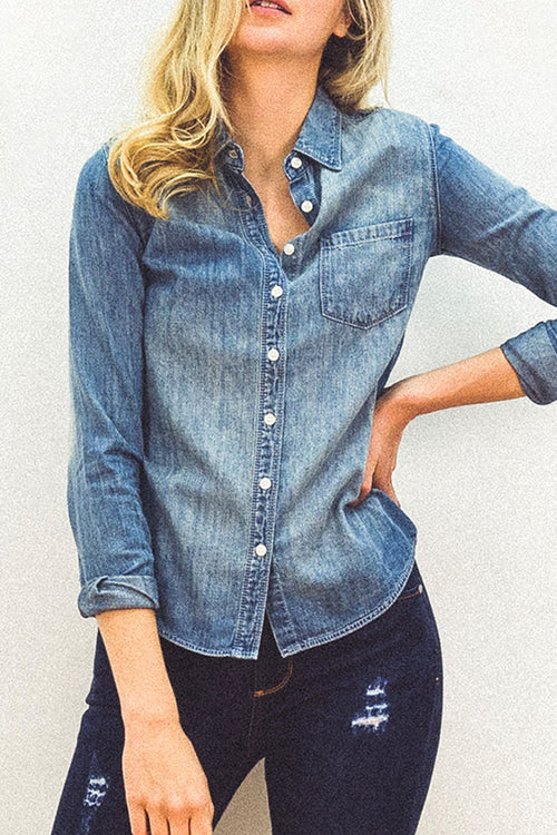 DAISY Denim Shirt