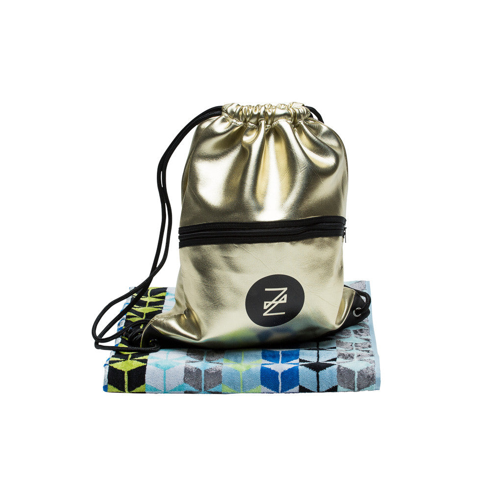 Serenus Pool Towel and Halcyon backpack set