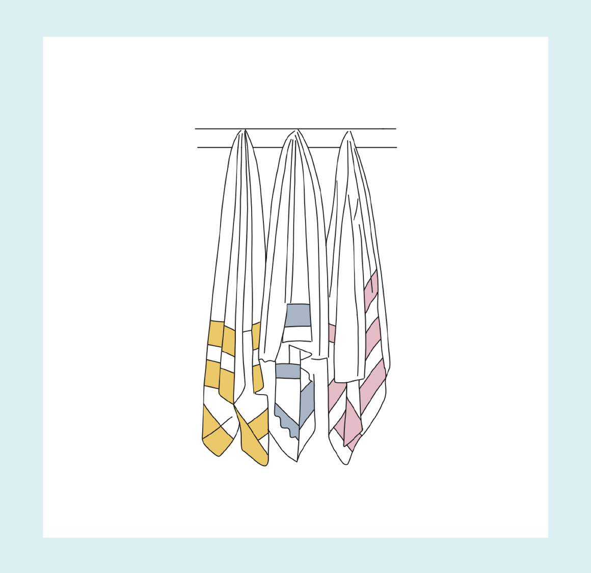 Hanging Turkish Towel