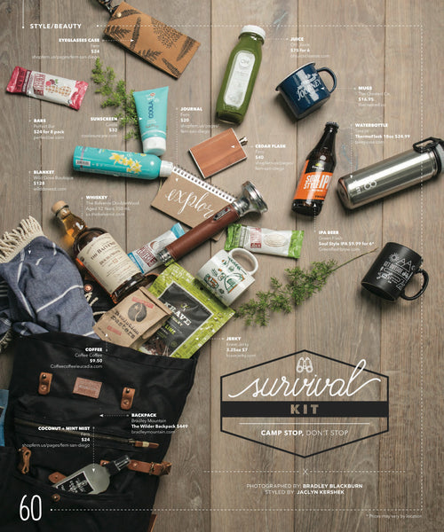 Locale Magazine Camping Survival Guide