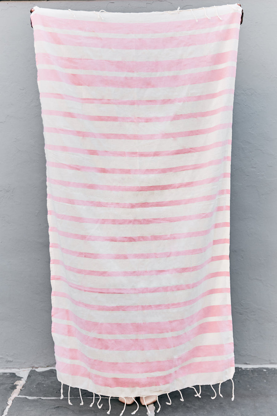 The Charleston - Flamingo Pink - Organic Turkish Towel
