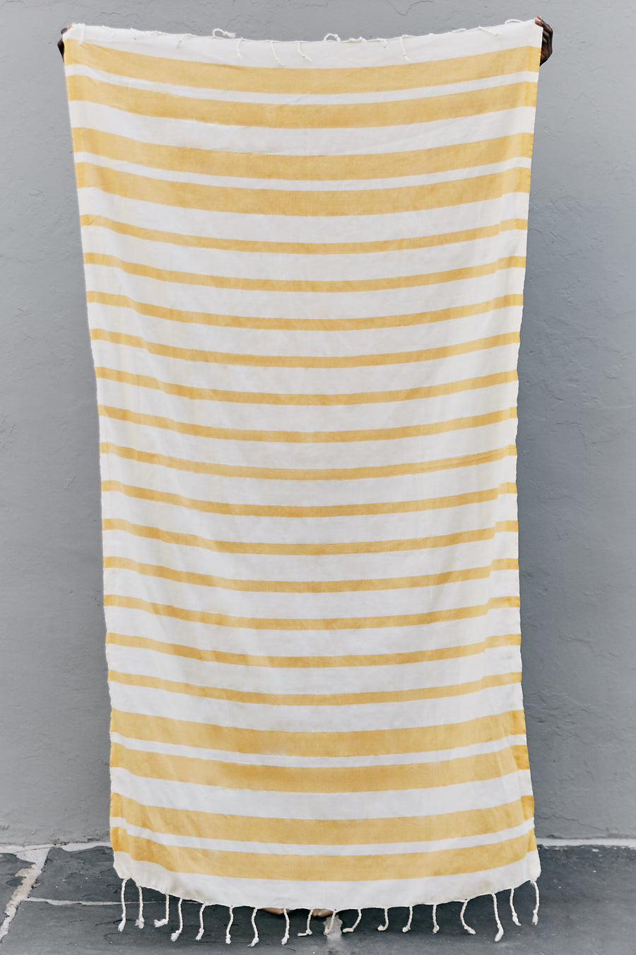 The Charleston - Golden Pineapple - Organic Turkish Towel