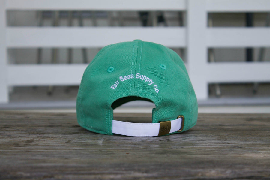Mint Green Anchor Hat