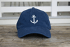 Navy Blue Anchor Hat