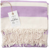 Lavender Organic Turkish Towel
