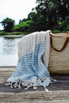 The Breton Stripe - Carolina Blue