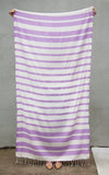 The Charleston - Wisteria Purple Turkish Towel