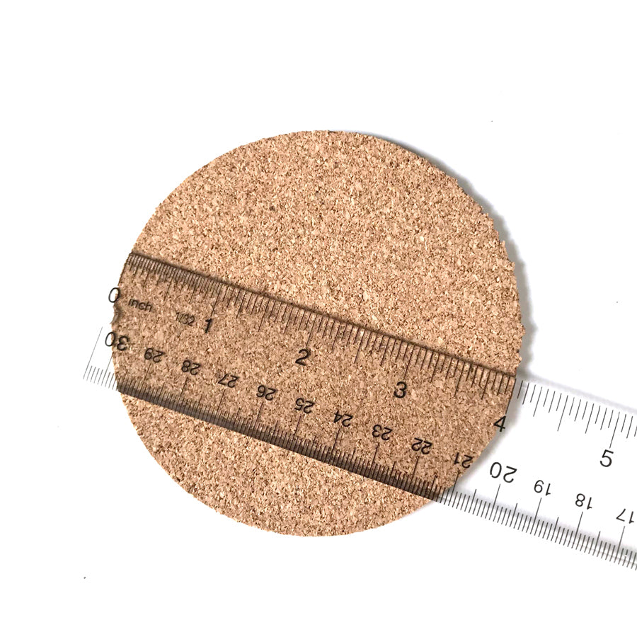 measured the diameter of the coaster
