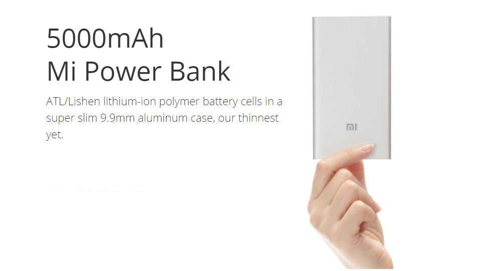 Xiaomi Mi 5000mAh Powerbank | Rock N' Shop
