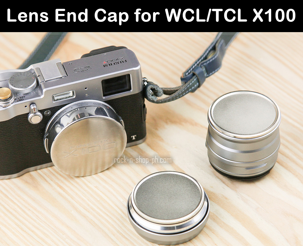 [Larry Gadget Store] Lens End Cap for Fujifilm WCL/TCL X100