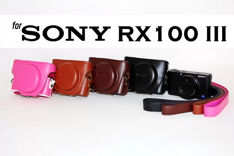 Leather Case Hoster for Sony RX100 I II III IV V