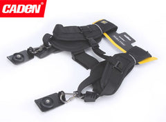 CADEN Double Camera Strap For Two Cameras