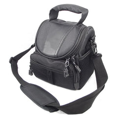 Black Camera Case Bag For SLR D40 Nikon Canon Sony No Logo