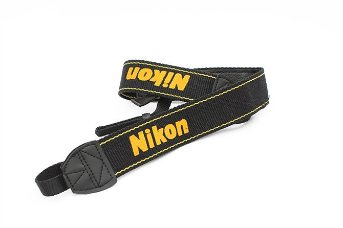 Neoprene Camera Neck Strap for Nikon