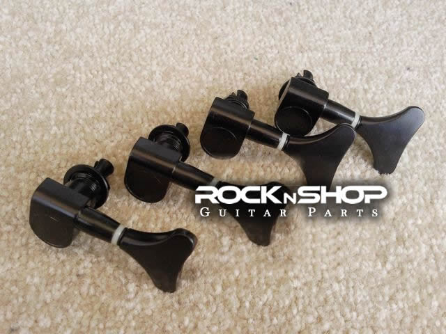 Bass Guitar Tuning Pegs (black)