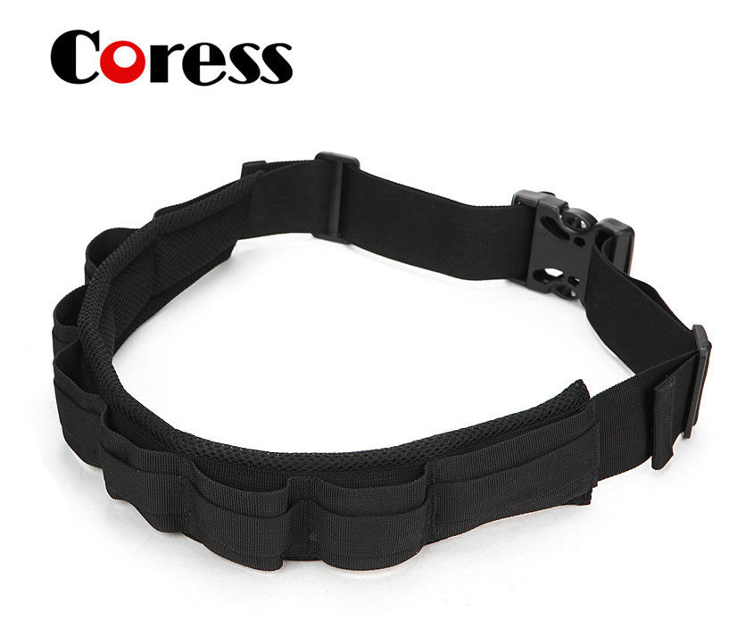 Coress Padded Camera Waist Belt Lens Bag Holder Case Pouch Holder Pack Strap Adjustable