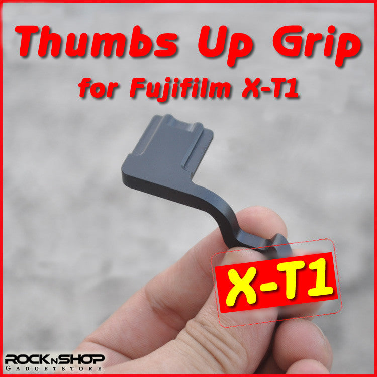 Hot Shoe Thumbs Up Grip for Fujifilm X-T1