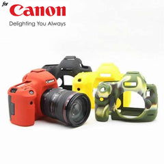 Silicone Rubber Case for Canon 5D3 5DS 5DSR