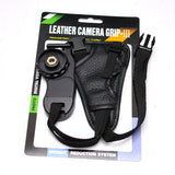 Leather Camera Grip-III Hand Strap