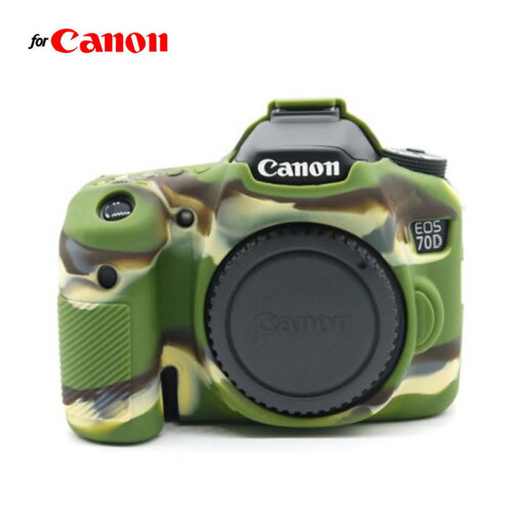 Silicone Rubber Case for Canon 70D