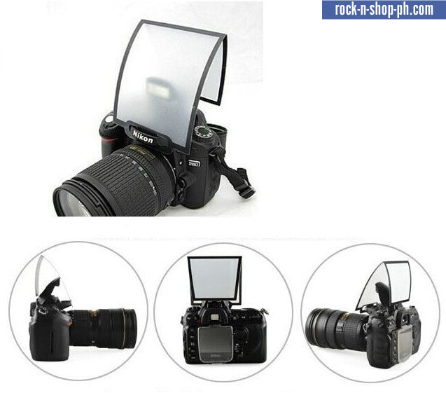 Pop up flash light diffuser for Canon Nikon Petax DSLR camera