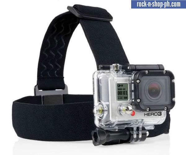 Gopro Hero 2 Hero 3 HD Helmet Head Strap Mount Wearing Heaband accessories Head Band