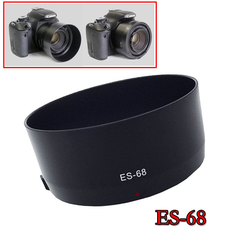 ES-68 Camera Lens Hood Reversible for Canon EOS EF 50mm f/1.8 STM