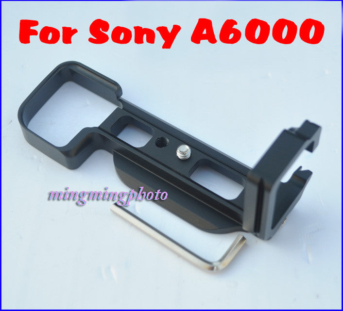 L-Plate Bracket Hand Grip for Sony A6000 Arca Swiss