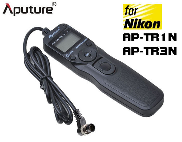 Aputure AP-TR1N AP-TR3N Digital LCD Timer Remote for Nikon
