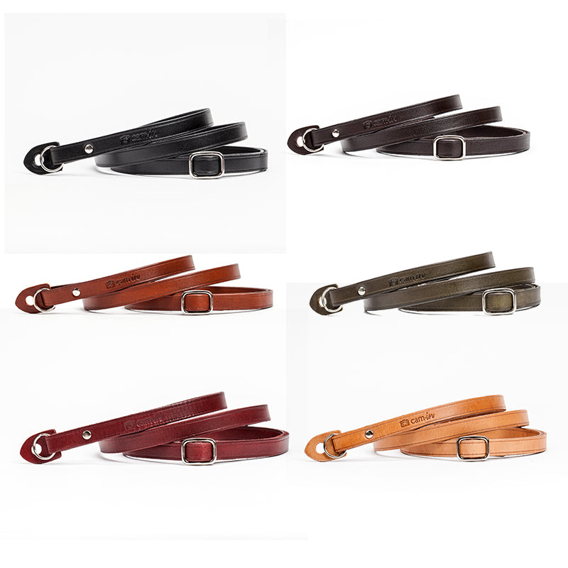 Cam-in CS219 Series Genuine Leather Camera Strap