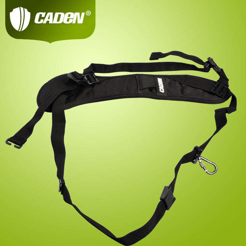 CADEN Decompression Black Shoulder Strap