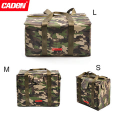 Caden Camouflage Camera Portable Insert Bag Waterproof Durable Nylon
