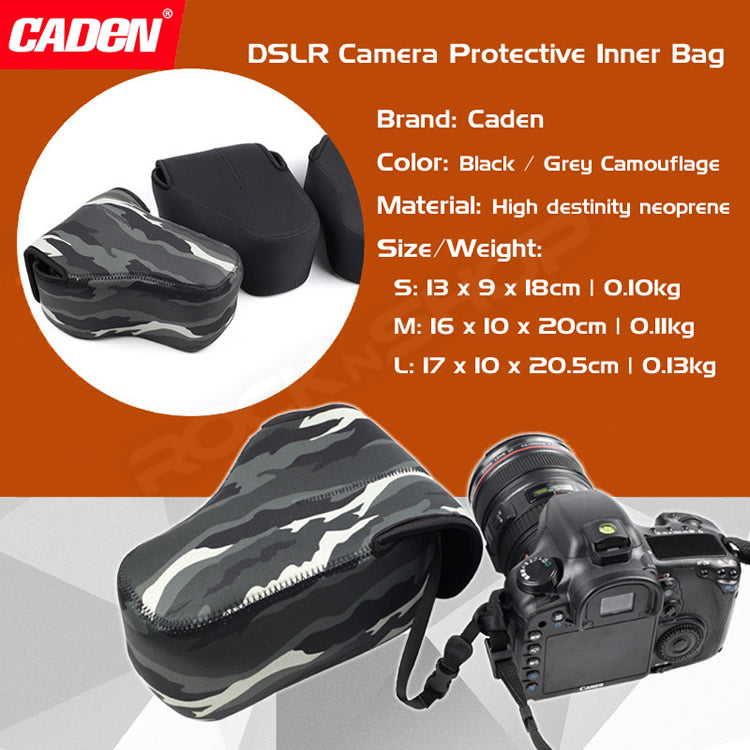 Caden Neoprene Pouch for DSLR