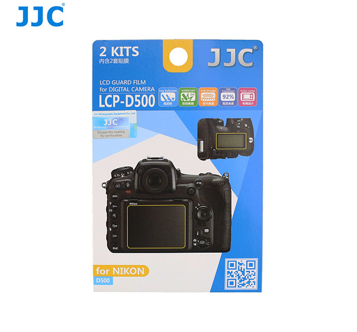 JJC LCD Guard Film for NIKON D500