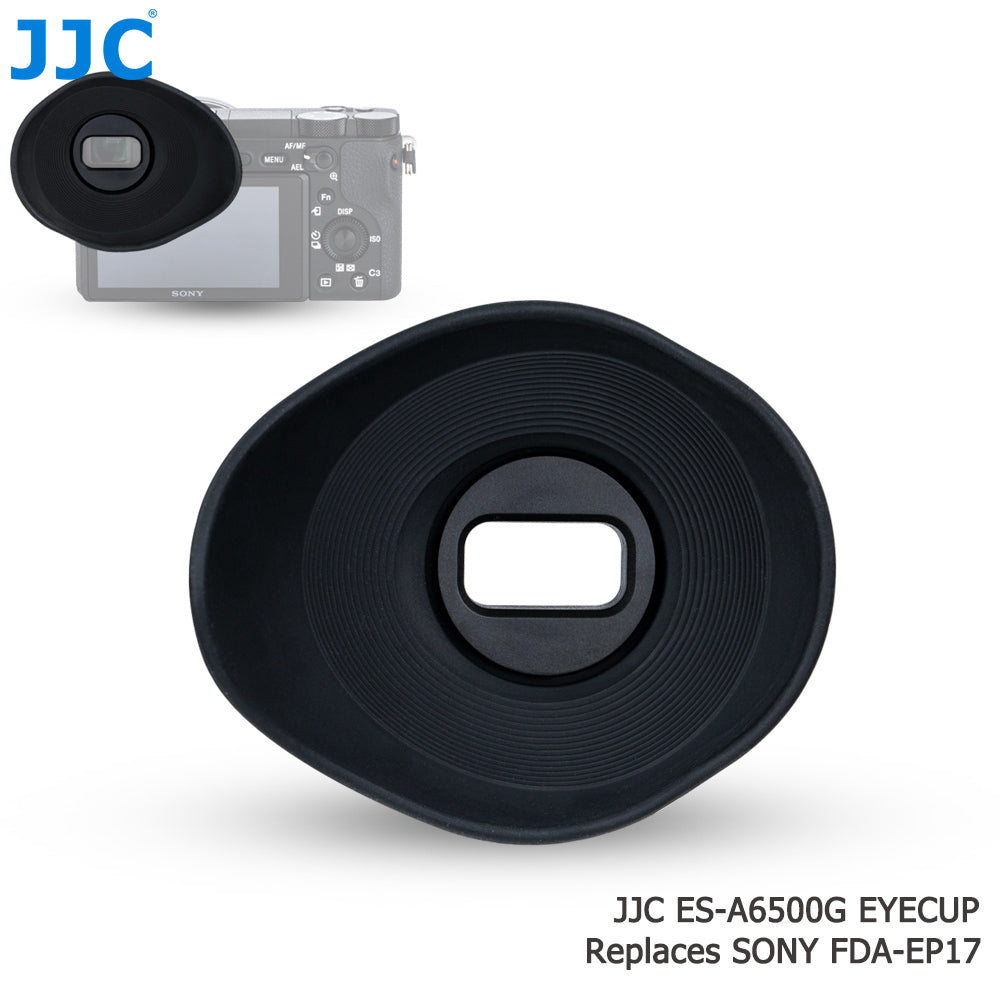 JJC ES-A6500G Eye Cup Replaces Sony FDA-EP17
