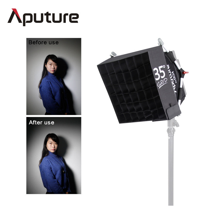 Aputure Easy Box+ Diffuser Kit Designed for Amaran Series HR-672 / AL-528