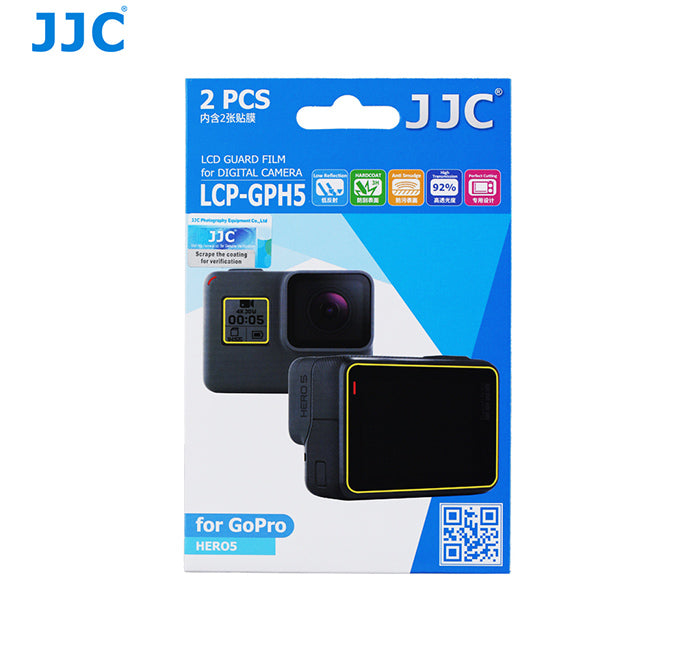 JJC LCD Guard Film for GoPro HERO5