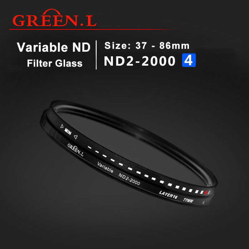 GreenL UV Filter Variable ND 2-2000