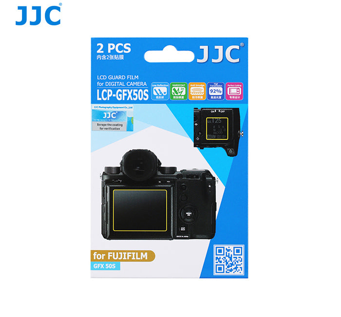 JJC LCD Guard Film for FUJIFILM GFX 50S