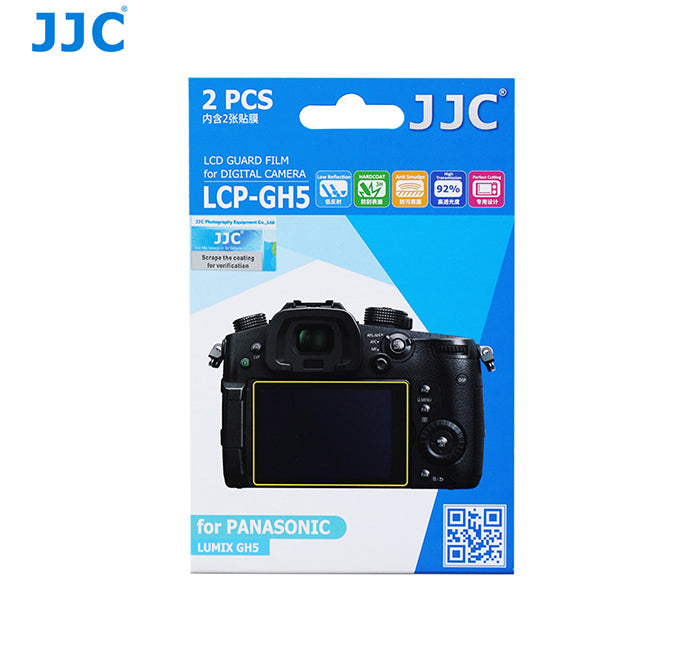 JJC LCD Guard Film for PANASONIC LUMIX GH5
