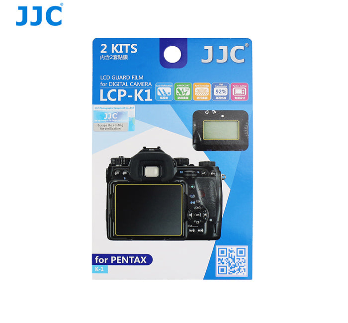 JJC LCD Guard Film for PENTAX K-1
